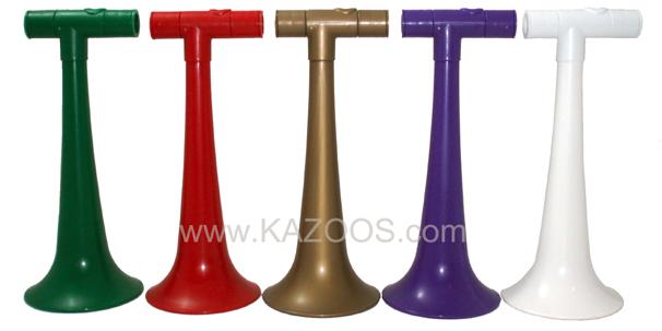 Kazoobie KaZobos in 5 colors